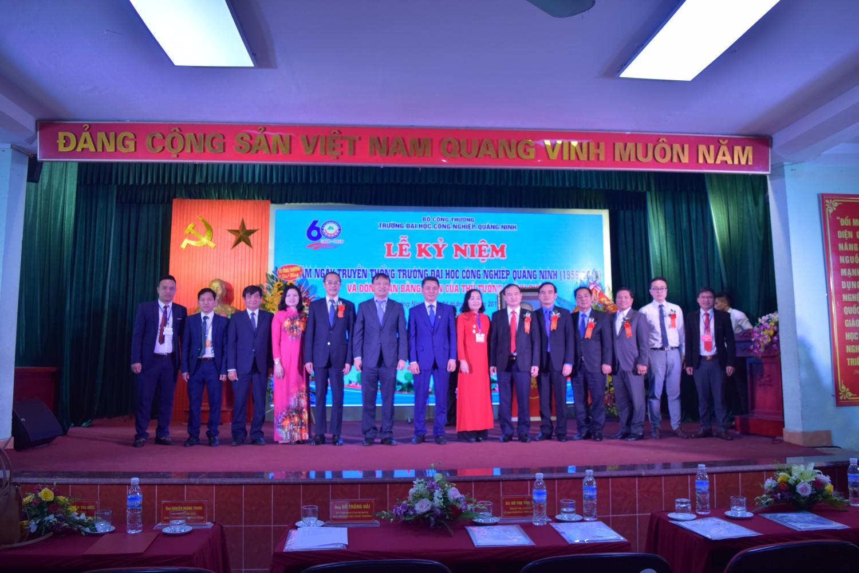 Lễ kỷ niệm 60 thành lập Trường ĐH Công nghiệp Quảng Ninh thành công tốt đẹp